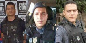 POLICIAIS ACUSADOS DE ASSASSINATO